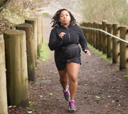 Time to Go Natural With Military Spouse and Runner Tylandra Callands